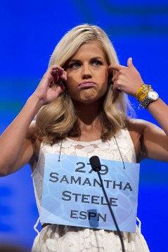 Randball How Espns Samantha Steele Christian Ponders Girlfriend
