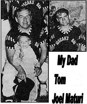 E-mailer Tom, his dad and apparently a very young Joel Maturi in Chisholm