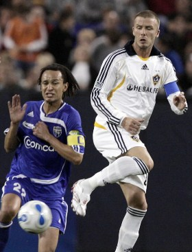 A match in 2007 at the Metrodome featuring David Beckham and the LA Galaxy drew 20,000 fans