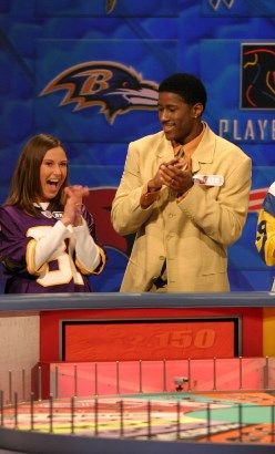 In an unrelated story, Burleson was apparently on Wheel of Fortune while with the Vikings in 2006