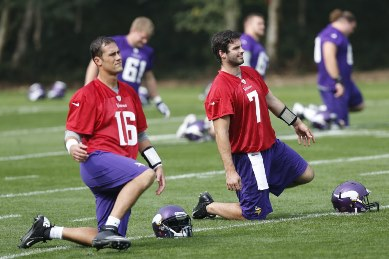 Cassel and Ponder in London /AP photo