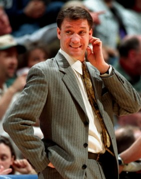 Back To The Future: Flip, circa 1998, coaching the Wolves