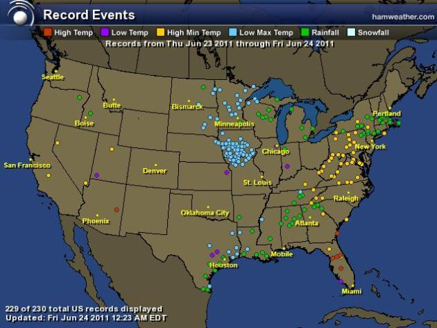 Superbowl Of Weather I Ve Said It Before Ad Nauseum But I Really Mean It This Time Record Heat Out West Record Chill Over The Upper Midwest
