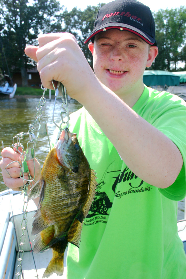 Every fish is a trophy when the fishing is meant to bring smiles to everybody's faces