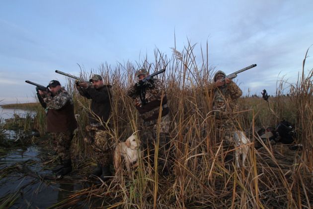 The members of Team Spoonbill (my duck camp)
