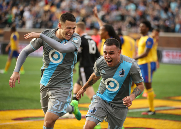 hot sale online 7e7ba df561 Prematch: A NASL throwback in Minnesota United's lineup ...