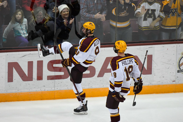 Mono Schmono: Gophers Completes Turnaround To Split Series With St. Lawrence