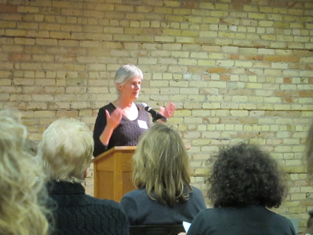 Housewright was introduced by former Star Tribune Books Editor, Sarah T. Williams