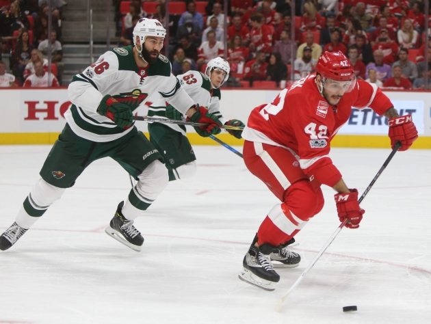 Detroit Red Wings at Minnesota Wild live chat