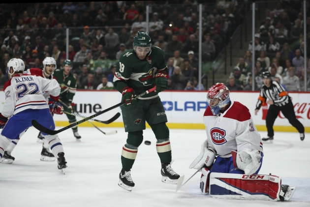 Wild F Kunin suffers season-ending ACL tear