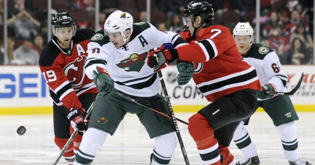 Wild returns to road to visit Devils for matinee in New Jersey ... c92e84497
