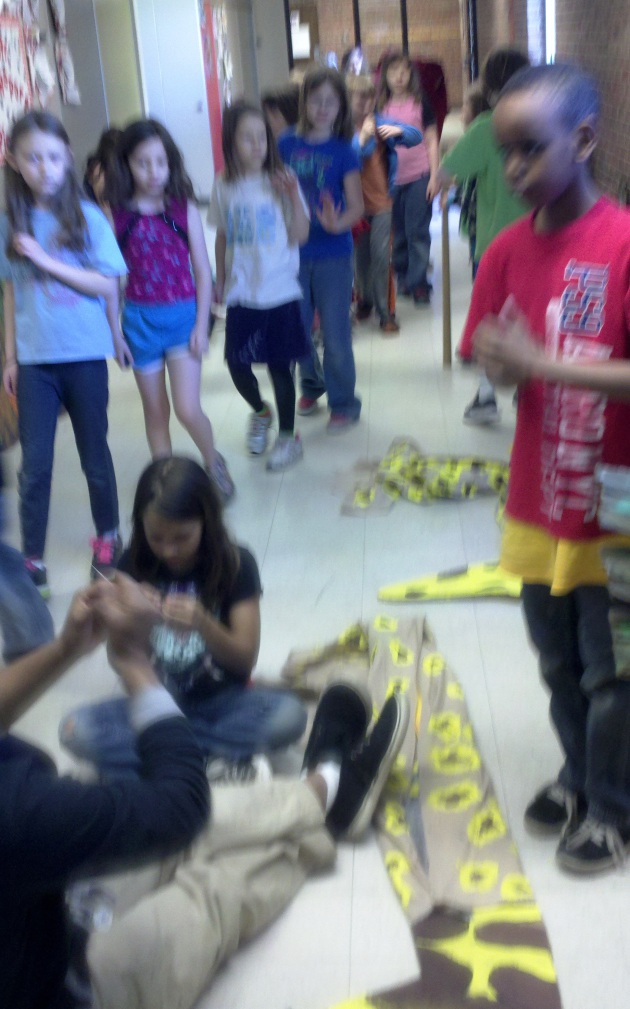 Students pack hallways