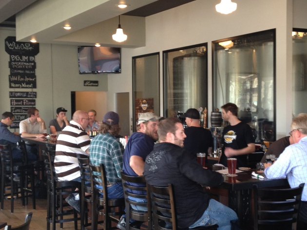 South Minneapolis' Northbound Smokehouse and Brewpub on opening day in September.