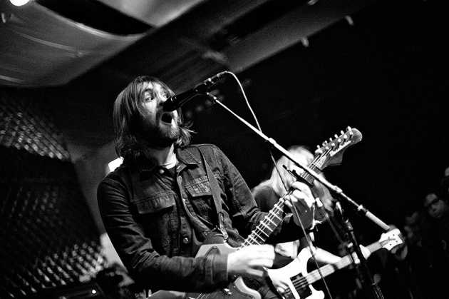 Frontman Justin Young led the Vaccines in an energetic performance Saturday at the Triple Rock Social Club.