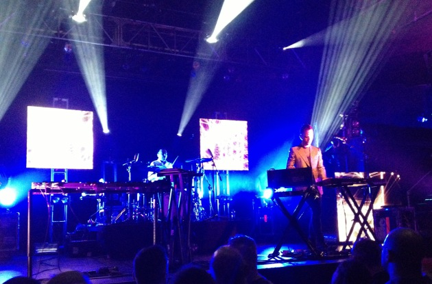 Australian electronic duo the Presets performed at First Avenue on Wednesday.