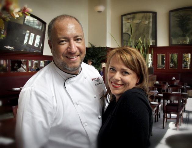 Russell and Desta Klein, in the dining room at Meritage. Star Tribune file photo.