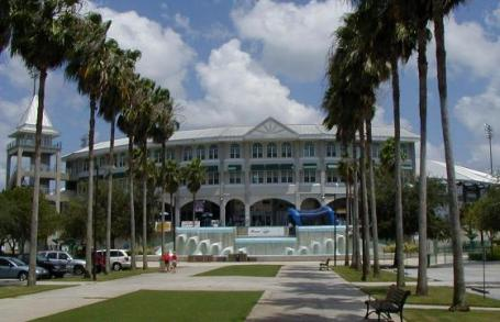 Hammond Stadium entrance