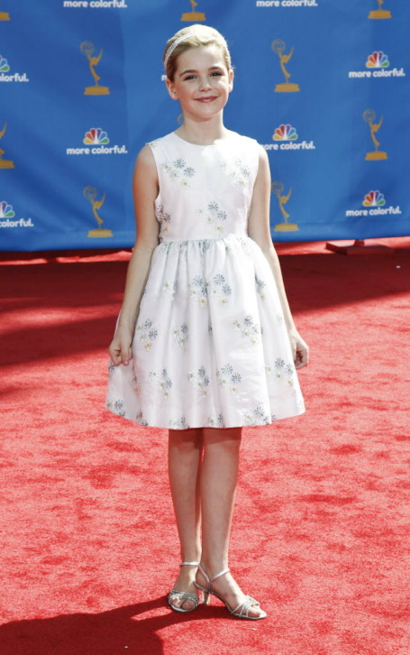 Kiernan Shipka (Sally Draper) at the Emmys