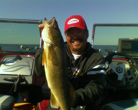 Nice 26 inch fish from Green Bay