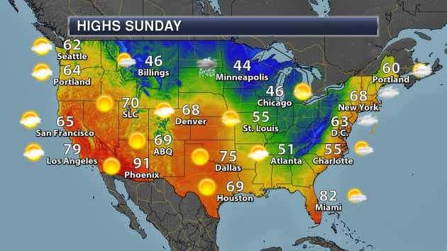 A Few Rain/Snow Showers Possible Sunday - 30s & 40s This Week For ...