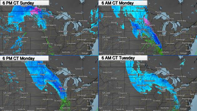 Paul Douglas: Winter storm warning until 6 a m  Tuesday