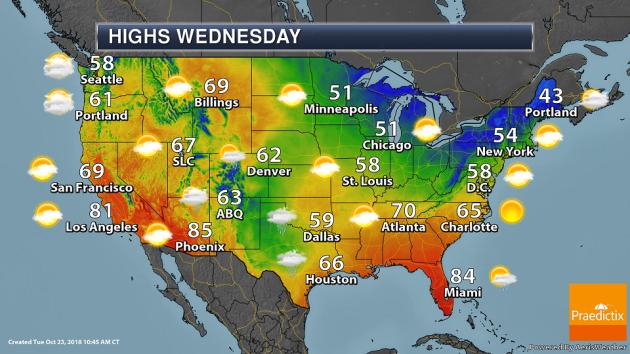 Wednesday Weather Outlook - Ticks And Moose - Praedictix