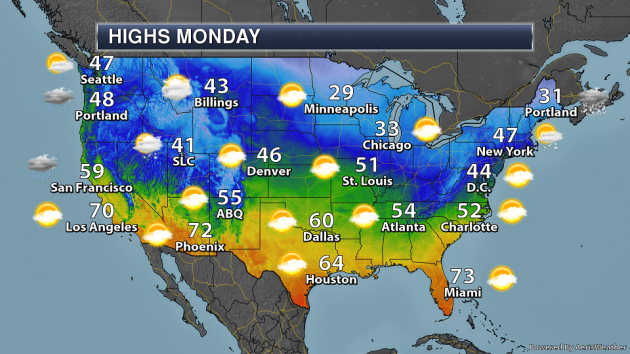 Christmas Eve National Weather Outlook - Potential Post ...