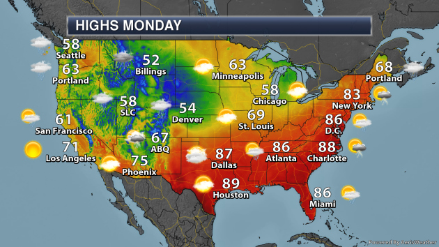 Severe Weather Outbreak Possible In The Southern U.S. Monday ...