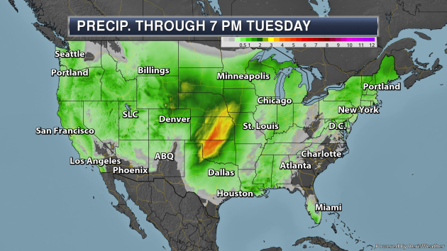 Severe Weather Outbreak Possible In The Southern U S  Monday