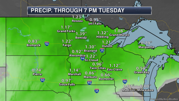 Rainy Stretch Of Weather Ahead - Up And Down Highs This Week
