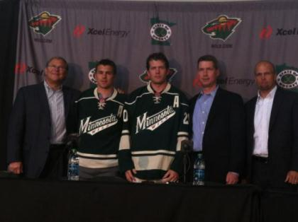 Leipold, Parise, Suter, Fletcher, Yeo