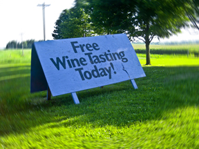 Yes, FREE Wine Tasting! Can't go wrong there!
