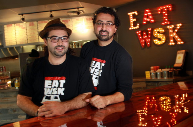 Sameh Wadi, left, and Saed Wadi of World Street Kitchen