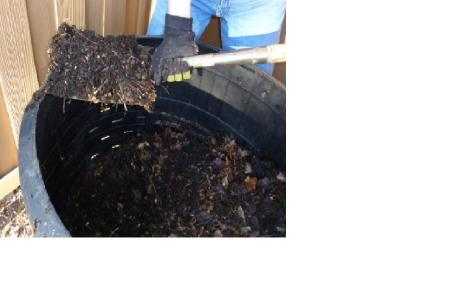 how to start a compost bin in the winter