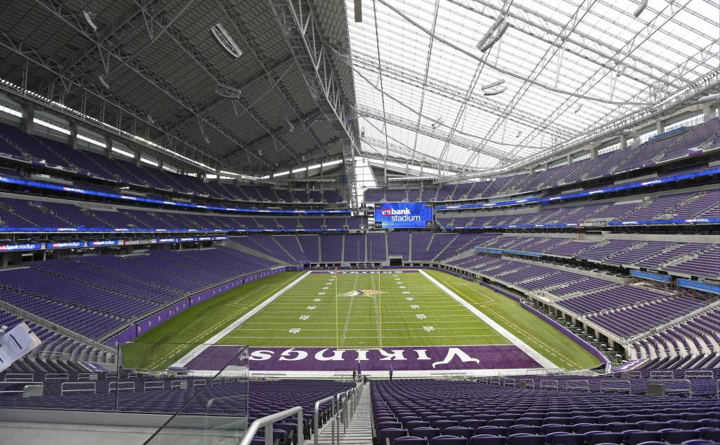 How Many Seats Will The New Vikings Stadium Hold