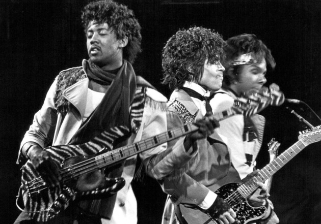 Here comes another Purple memoir -- from Prince bassist Brownmark ...