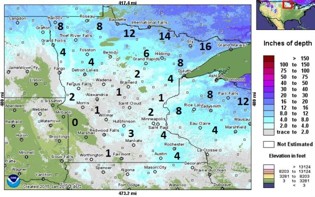 Drifting Dirt over Central Minnesota – Super Sized Clipper on Sunday?