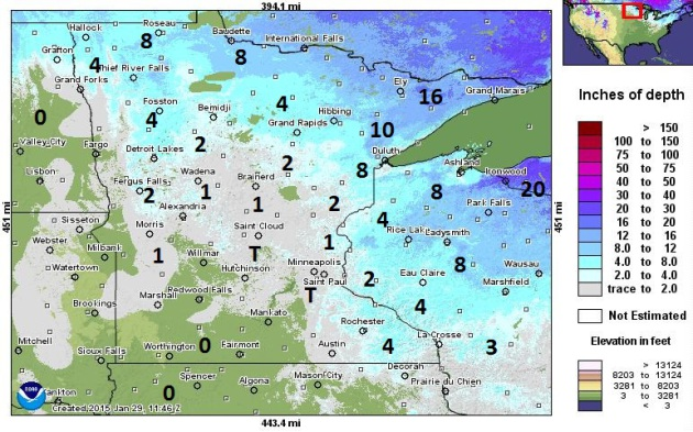 Easing Back Into Winter – Tough Times for Minnesota Snow Lovers
