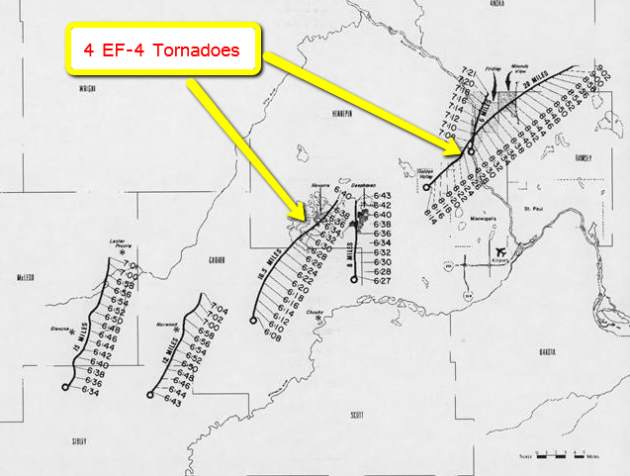 Spring Regains Its Bounce Next Week – Yes, EF-4 Tornadoes Can Hit The MSP Metro
