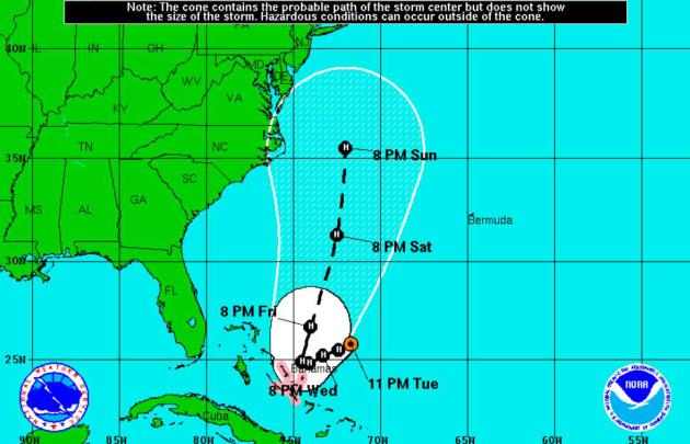 Sunny, Drama-Free Here at Home – Hurricane Joaquin Threatens East Coast