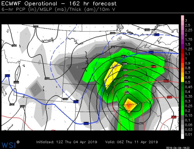 Inch of Rain Possible This Weekend – Potential for Heavy Wet Snow Next Week? Please God, No…