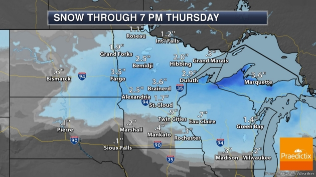 Potentially Significant Snowstorm Brewing for Friday-Saturday