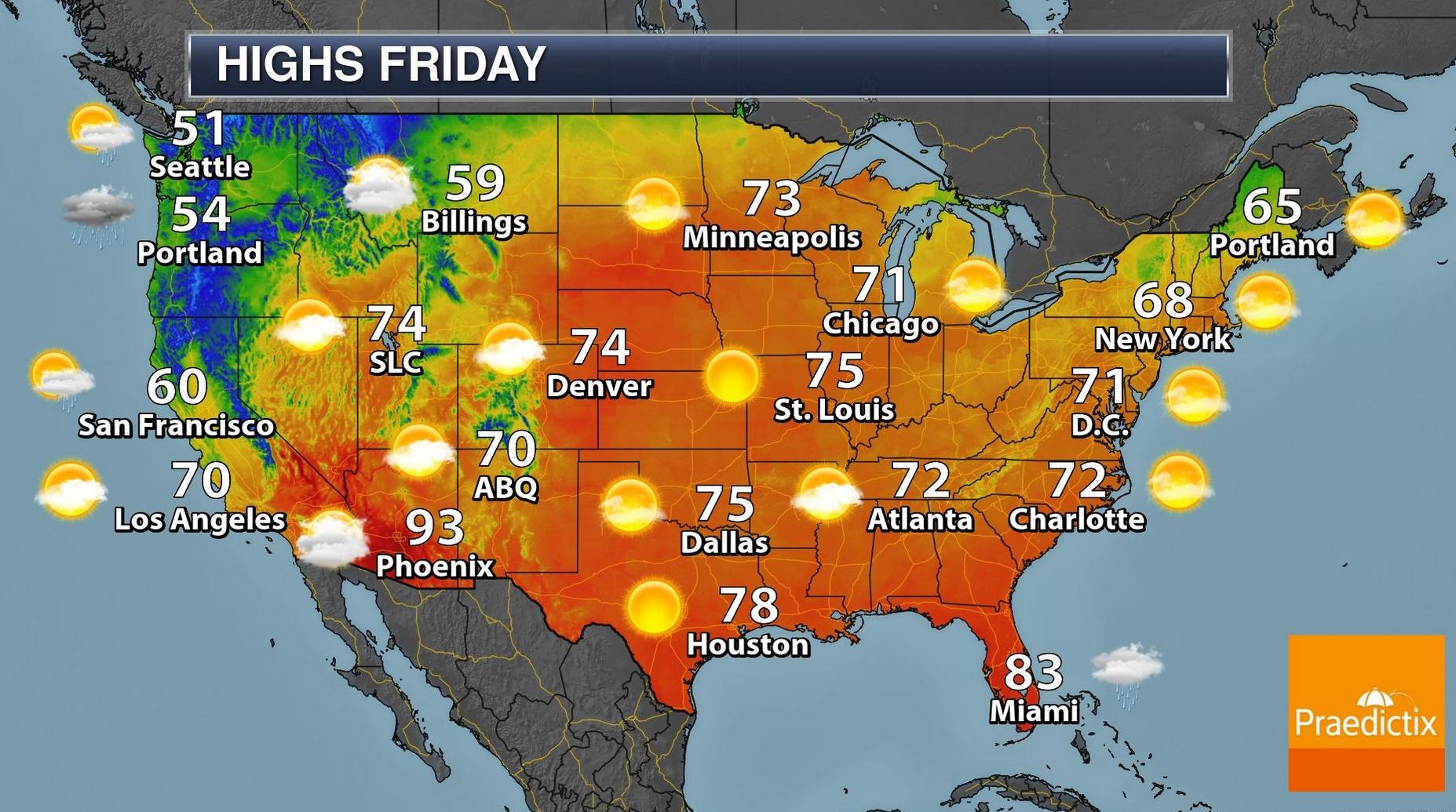 Record Warmth Into Sunday – Then Slushy Possibilities Next Week